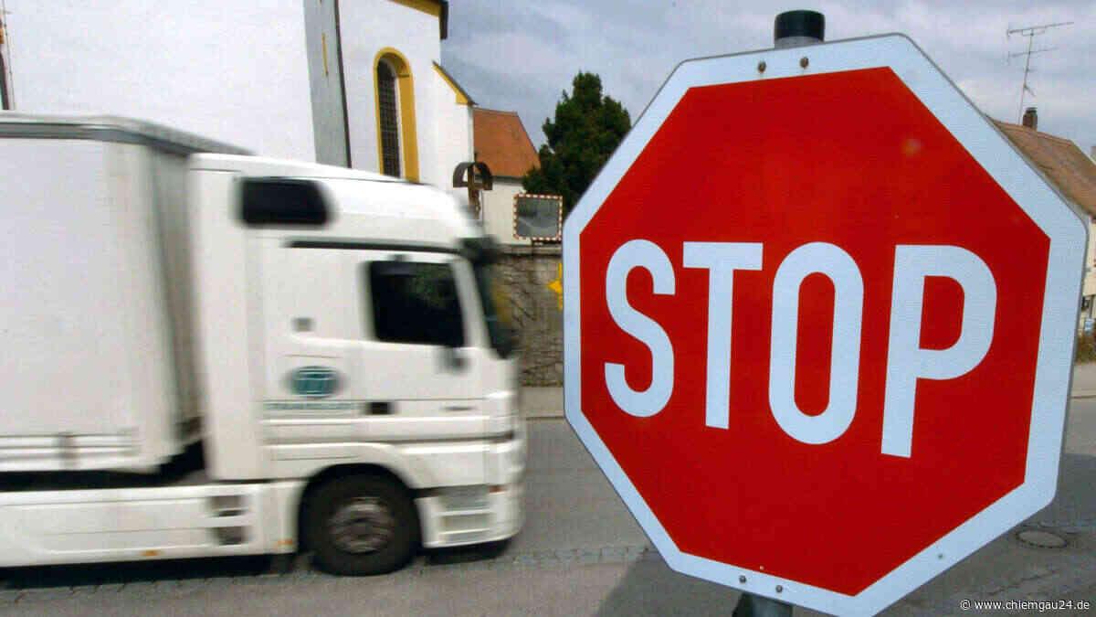 Tittmoning: Bürgermeister an der B20 wollen sich gegen österreichisches Transitverbot wehren - chiemgau24.de