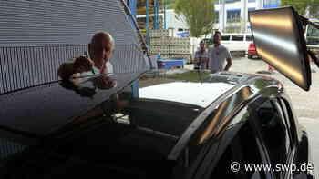 Unwetter: Hagelschäden in Fichtenberg und Oberrot werden unter die Lupe genommen - SWP