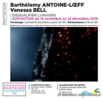 Exposition : DISQUALIFIER L'UNIVERS - Galerie d'art de Créteil, Creteil, 94000 - Sortir à France - Le Parisien Etudiant