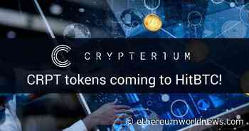 Amazing Crypterium (CRPT) To Be Listed On HitBTC - Ethereum World News - Ethereum World News