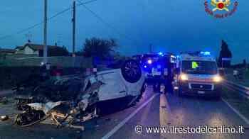 Incidente Argelato, auto si ribalta. Un ferito - il Resto del Carlino
