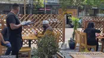 Ventas de restaurantes en San Francisco han disminuido en un 84%, según estudio - Univision