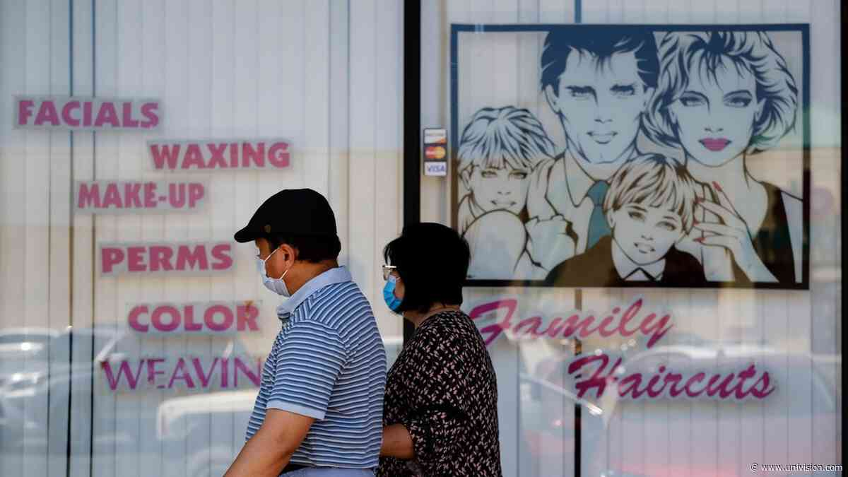 Coronavirus: San Francisco anuncia fecha para reabrir barberías, gimnasios y salones de uñas al aire libre - Univision
