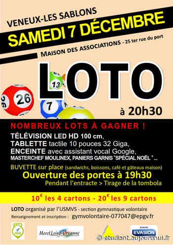 Loto de la GV - Maison des associations, Veneux-Les Sablons, 77250 - Sortir à France - Le Parisien Etudiant