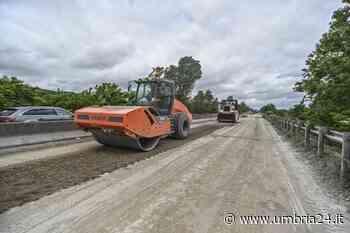 Lavori lungo la E45, cantieri anche a Ponte Felcino - Umbria 24 News