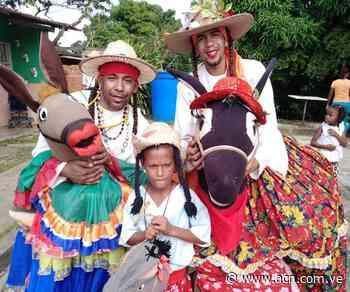 Encuentro de bailadores de Burriquitas fue en honor a la Virgen de Begoña - ACN ( Agencia Carabobeña de Noticias)