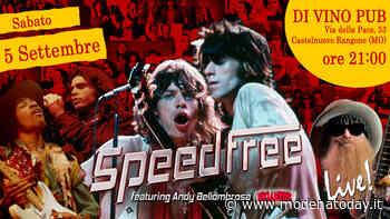 """""""La storia del rock"""", SpeedFree in concerto a Castelnuovo Rangone - ModenaToday"""