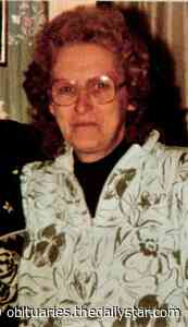 Mildred Mattice   Obituary   The Daily Star - Oneonta Daily Star