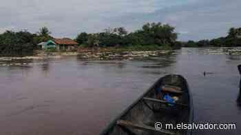 Crecida del río Goascorán en Barrancones, Pasaquina | Noticias de El Salvador - elsalvador.com