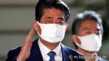 Aus gesundheitlichen Gründen: Japans Regierungschef Shinzo Abe will zurücktreten - Politik - Tagesspiegel