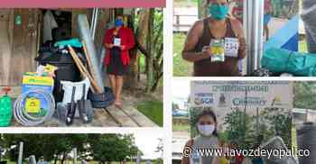 Familias de Hato Corozal y Maní se benefician con elementos agrícolas - Noticias de casanare - La Voz De Yopal