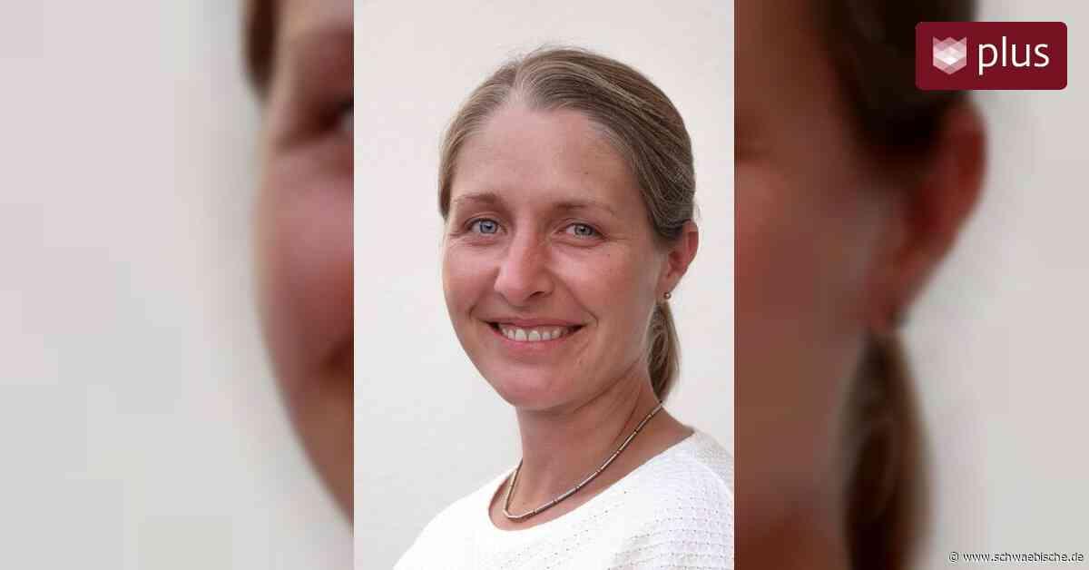 Isabel Kitzmann ist die neue Schulleiterin - Schwäbische