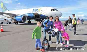Sky reanudará operaciones aéreas a Puerto Natales desde diciembre - La Prensa Austral