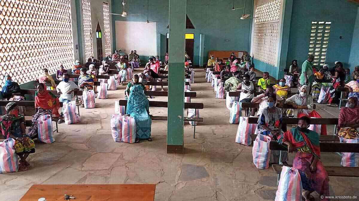 Kempten - Utange-Verein Betzigau - erste Lebensmittelverteilung - Hilfe - Kenia - Kreisbote