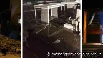 In tre ore caduti più di 100 millimetri d'acqua: Tolmezzo la città più colpita, quattrocento i volontari al lavoro - Il Messaggero Veneto