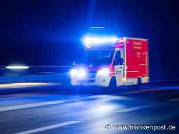 Drei Schwerverletzte nach Verkehrsunfall auf der B20 - Frankenpost