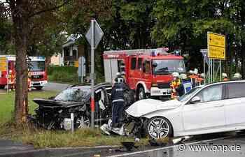 Unfall auf der B20: Kleinkind und drei Erwachsene verletzt - Passauer Neue Presse