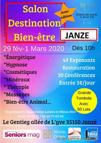 """Salon """"Destination Bien-être"""" Janzé 5ème édition - LE GENTIEG, Janze, 35150 - Sortir à France - Le Parisien Etudiant"""