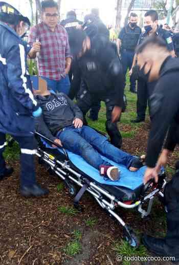 #En Atizapan de Zaragoza rescatan a uno de dos jóvenes que cayeron al canal de San Miguel - Noticias de Texcoco