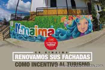 Se renovaron las fachadas como incentivo al turismo en Nimaima, Cundinamarca - Noticias Día a Día