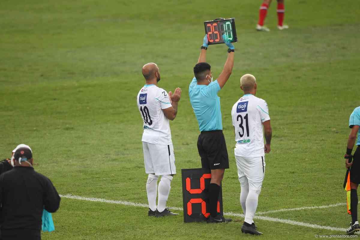 José Contreras regresó al futbol profesional después de más de un año de ausencia - Prensa Libre