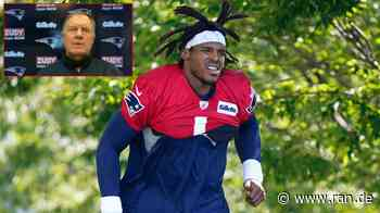 Training Camp der New England Patriots: Bill Belichick mit Sonderlob für Cam Newton - RAN