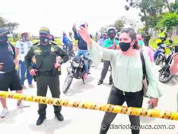 Encuentro entre comerciantes y secretaria de Gobierno en Timbío - diariodelcauca.com.co