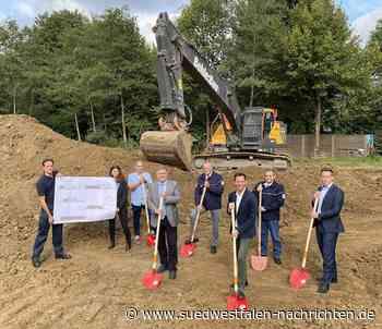 Bau der neuen Rettungswache in Netphen-Deuz offiziell gestartet - Südwestfalen Nachrichten | Am Puls der Heimat.