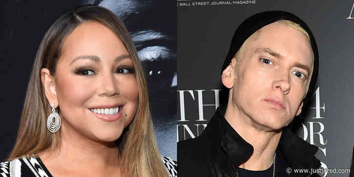 Mariah Carey Reacts to Reports That Eminem Was 'Stressed' He'd Be In Her Memoir