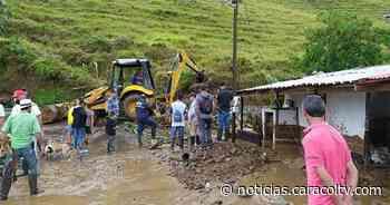 Deslizamiento en Pueblorrico, Antioquia, destruye tres viviendas - Noticias Caracol