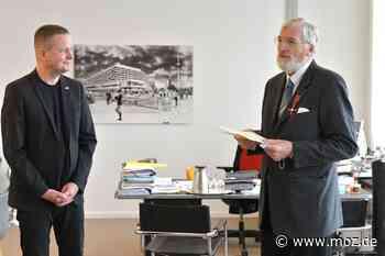 Orden: Rainer Klemke aus Schorfheide mit Bundesverdienstkreuz geehrt - Märkische Onlinezeitung
