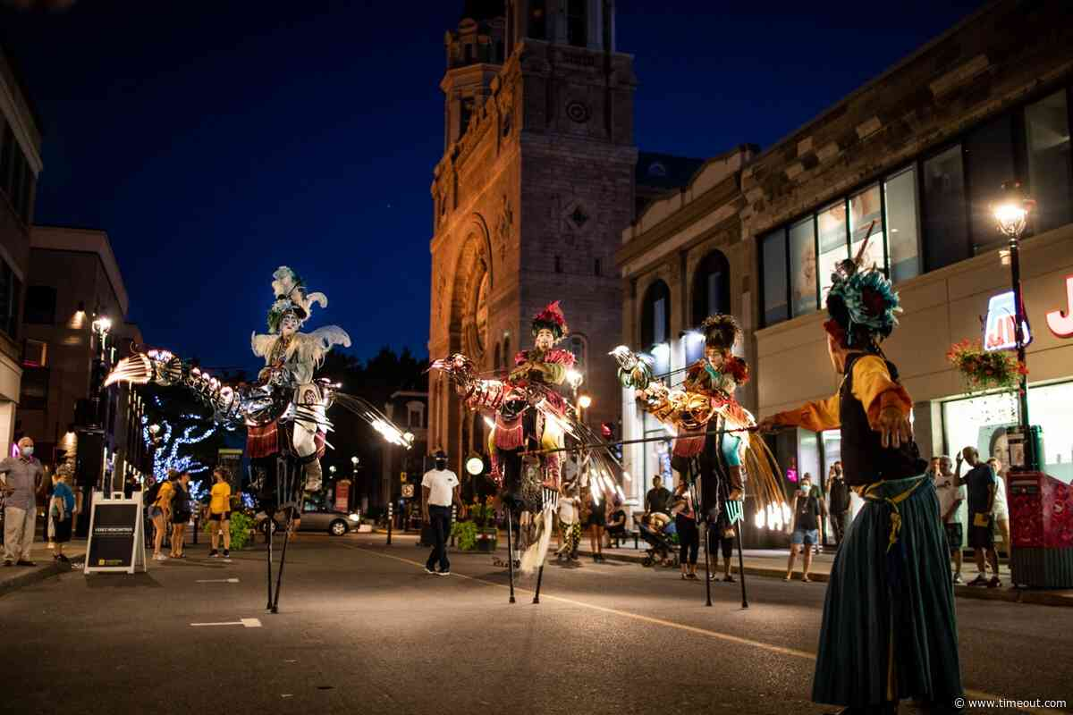 Huge marionette performances are taking to the streets every weekend in Verdun - Time Out