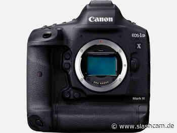 Auch die Canon EOS 1D-X Mark III soll Log3 Option bekommen - slashCAM