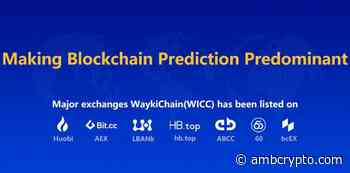 WaykiChain [WICC], Blockchain Industry Delegate, with over 150 Top Global Firms Attends China Development Forum [CDF] 2019 - AMBCrypto News