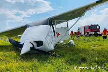 Flugzeug verunglückt bei Landung in Sankt Peter-Ording - TAG24