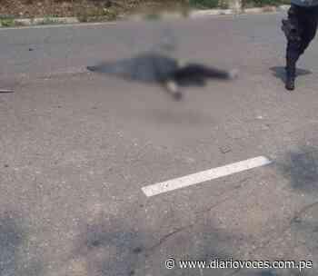 Odontólogo limeño muere en trágico accidente en la carretera Sancanche – Saposoa - Diario Voces