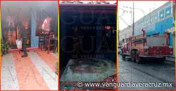 ¡Se quema el despacho Rocha en Tuxpan! - Vanguardia de Veracruz - Vanguardia de Veracruz