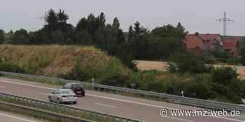 Weissenfels: Land plant Lärmschutz an der Autobahn 9   MZ.de - Mitteldeutsche Zeitung