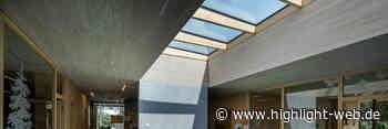 Glasdächer von Lamilux für die Kinderkrippe Wiggensbach - HIGHLIGHT