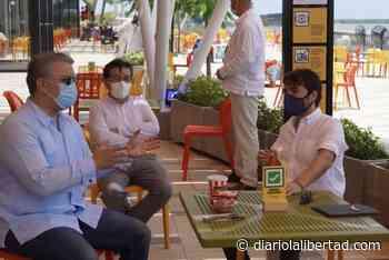 A orillas del Río Magdalena, en el Gran Malecón, el presidente Duque y el Alcalde Pumarejo abalizaron la reactivación economica en la ciudad - Diario La Libertad