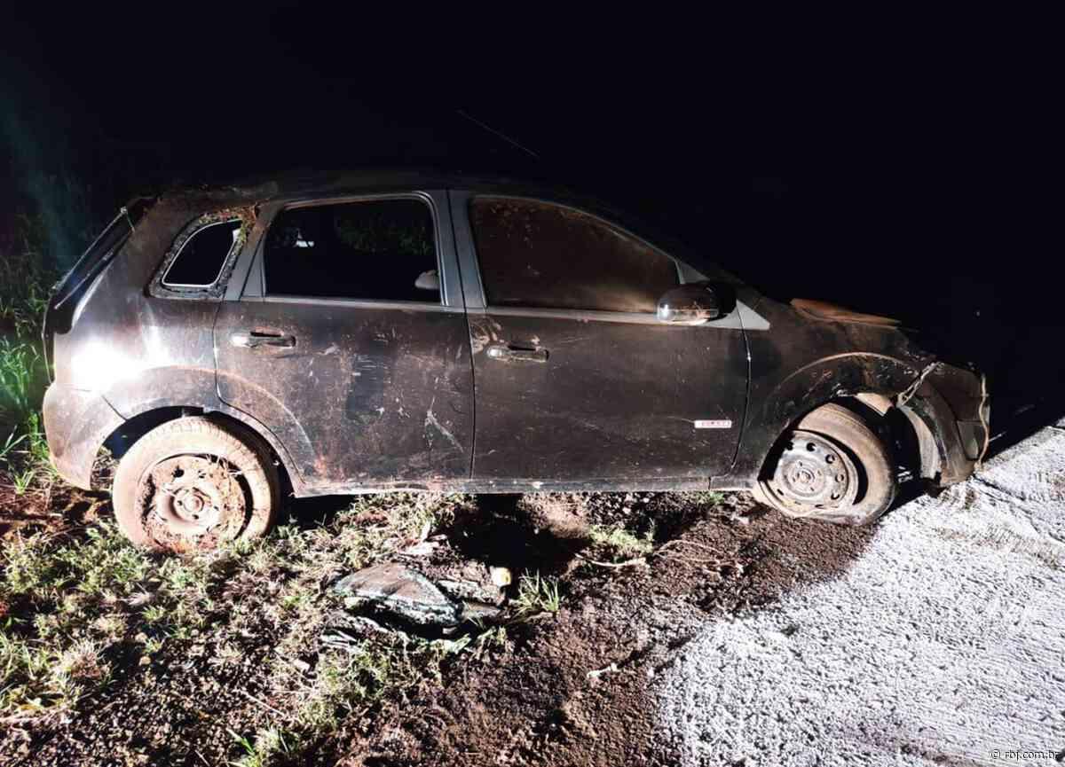 Mangueirinha: Capotamento na PR-281 deixa uma vítima fatal e três feridos - RBJ