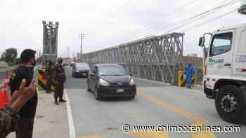 Reabren tránsito en puente Coishco garantizando intercambio comercial en el norte del país - Diario Digital Chimbote en Línea