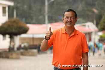 Jaime Arévalo es el nuevo alcalde de Sutatausa, en Cundinamarca - El Espectador