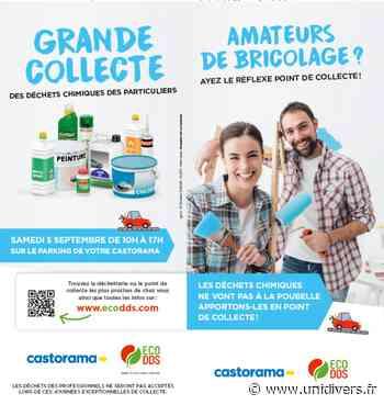 Collecte de déchets chimiques des particuliers Castorama – Bondues samedi 5 septembre 2020 - Unidivers