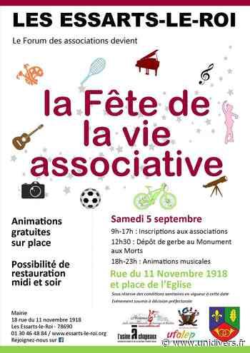 Forum des associations des Essarts-le-Roi Les Essarts-le-Roi samedi 5 septembre 2020 - Unidivers