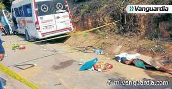 Colisión dejó una persona muerta en Puerto Parra, Santander - vanguardia.com