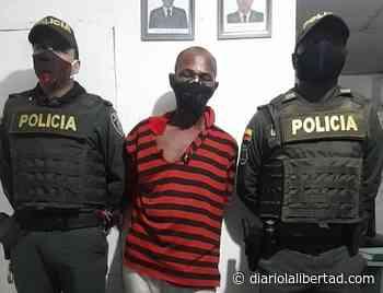 Presunto asesino de su cuñado en el barrio Fredonia, capturada por la Policía de Cartagena - Diario La Libertad