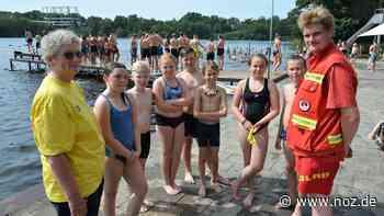 Aktion für Grundschüler: Einblick ins Rettungsschwimmen am Bramscher Darnsee - Neue Osnabrücker Zeitung