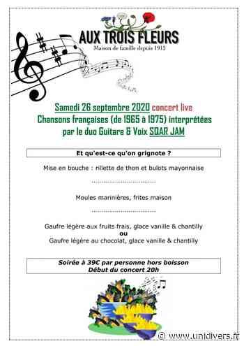 Concert live avec le duo guitare voix Squar Jam samedi 26 septembre 2020 - Unidivers