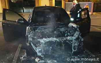 Ornago, Jaguar in fiamme: intervengono i Vigili del Fuoco - MBnews
